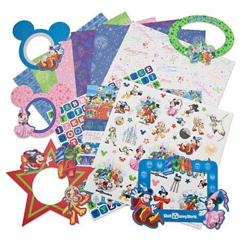 Disney World 2014 Sorcerer Mickey & Friends Scrapbook Kit 12x12 - NEW Disney Theme Parks 2014-KIT