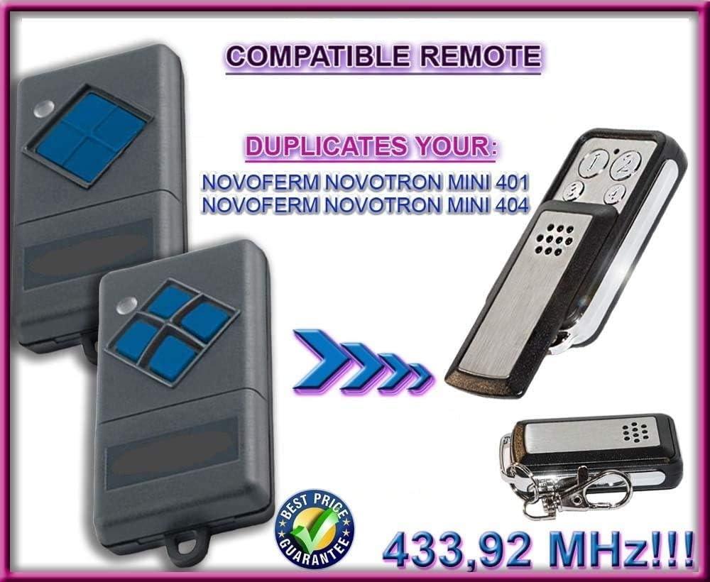 404 Fernbedienung Duplikator 4-Channel 433.92MHz Novoferm Novotron Mini 401