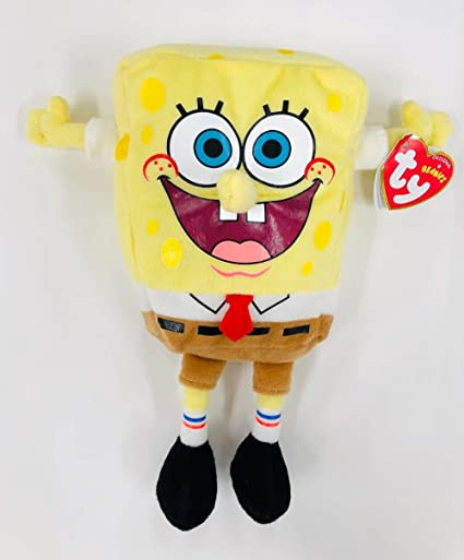 333ec28d156 Image Unavailable. Image not available for. Color  Ty Beanie Babies  Spongebob ...