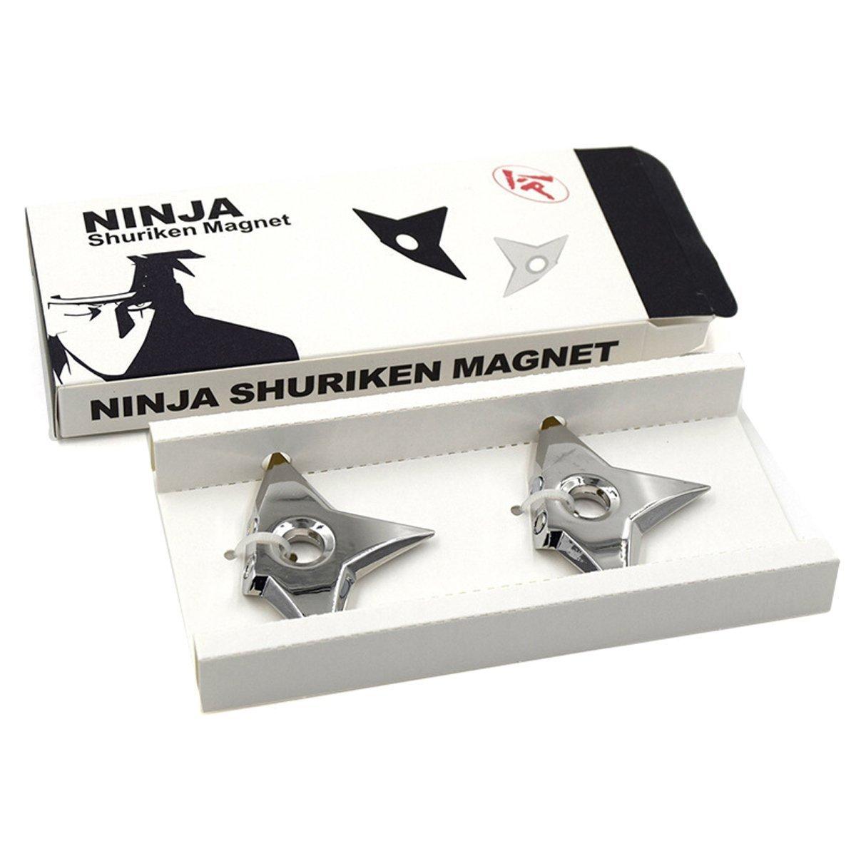 Shuriken Ninja Imanes para nevera, juego de imán para nevera ...