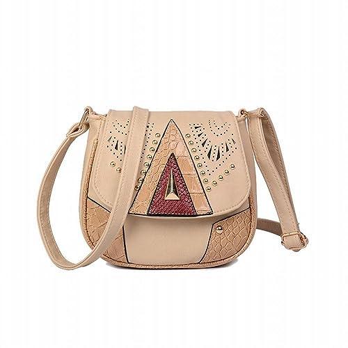 Vintage Crossbody Bag Women Small Shoulder Bag Leather Handbags Pocket  Wallet Purses For Women (Beige 4f3c3c4f5b