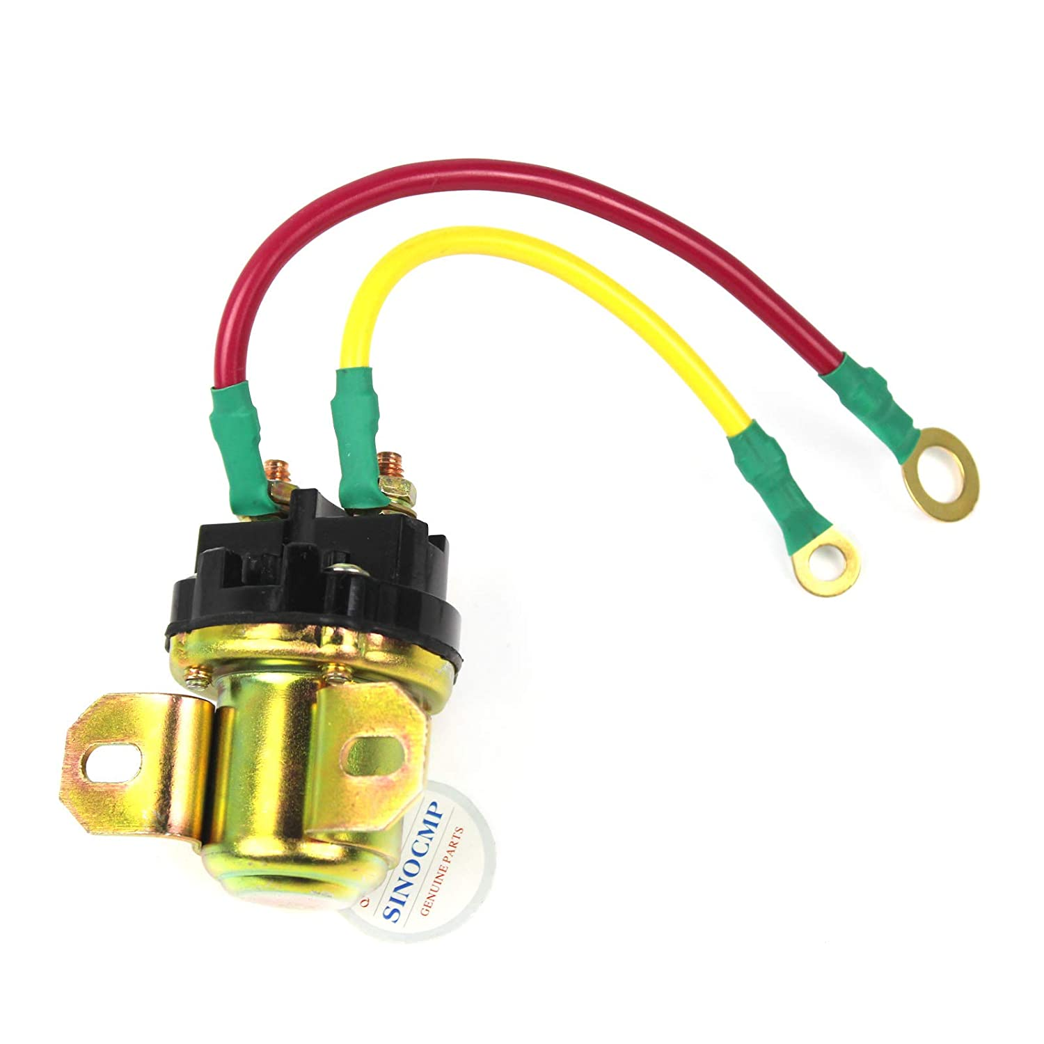 Heater Switch 600-815-2170 - SINOCMP Motor Starter Relay for Komatsu Heater Realy PC200-6 PC-7 Excavator Parts, 3 Month Waranty