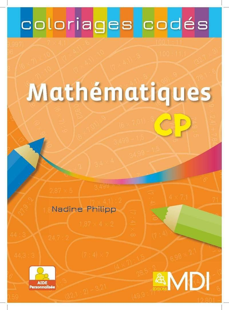 Coloriage Solide Cp.Amazon Fr Coloriages Codes Mathematiques Cp Nadine