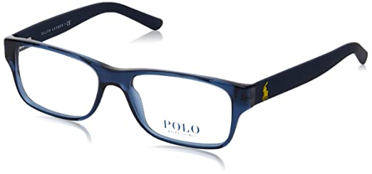 fadaa8358c ... best polo ph2117 eyeglass frames 5470 52 navy blue 12941 e525a