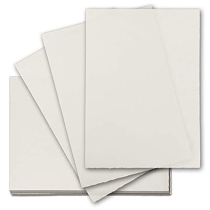 50x Echtes Bütten Papier Din A4 Brief Papier Ohne Wasserzeichen
