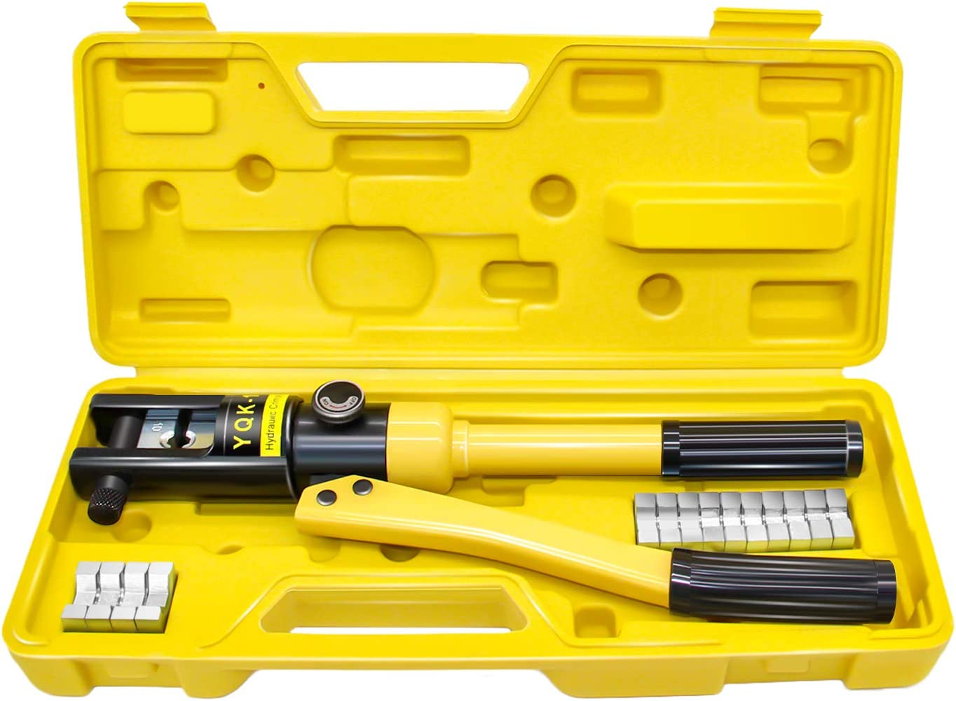 Premium Grade Hydraulic Crimping Tool for Large Wire Battery Lugs 6 to 4//0 Gauge