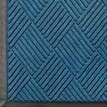 Andersen 208 Waterhog Classic Diamond Polypropylene Fiber Entrance Indoor Floor Mat, SBR Rubber Backing, 3-Feet Length X 2-Feet Width, 3/8-Inch Thick, Medium Blue