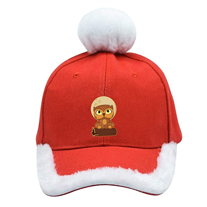 Image Unavailable. Image not available for. Color  Xfngn Personalized  Owlbear Christmas Baseball Cap Adjustable ... 39129bff03a3
