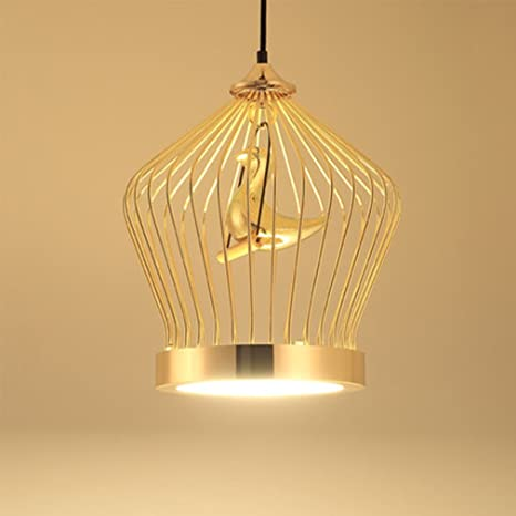 Post Modern LED Lámpara colgante Personalidad Hierro sintética ...