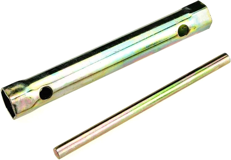 YUNB Llaves de buj/ías de 16 cm Llaves de buj/ías de Encendido de Motocicleta Herramienta de Llave de Llave de Alcance Profundo Nuevo