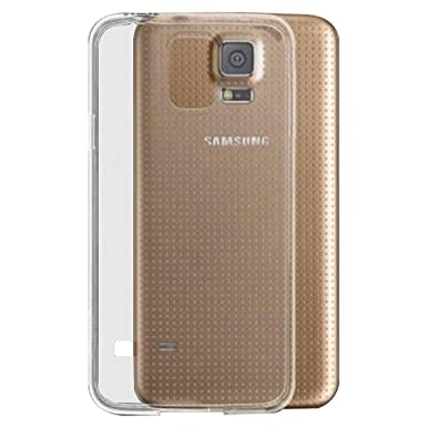 wholesale dealer 97a45 a8928 Samsung Galaxy S5 Silicone Gel Case Case - Transparent Clear Soft Gel TPU  Silicone Case Cover for Your Samsung Galaxy S5 - TPU Cover Samsung Galaxy  S5 ...