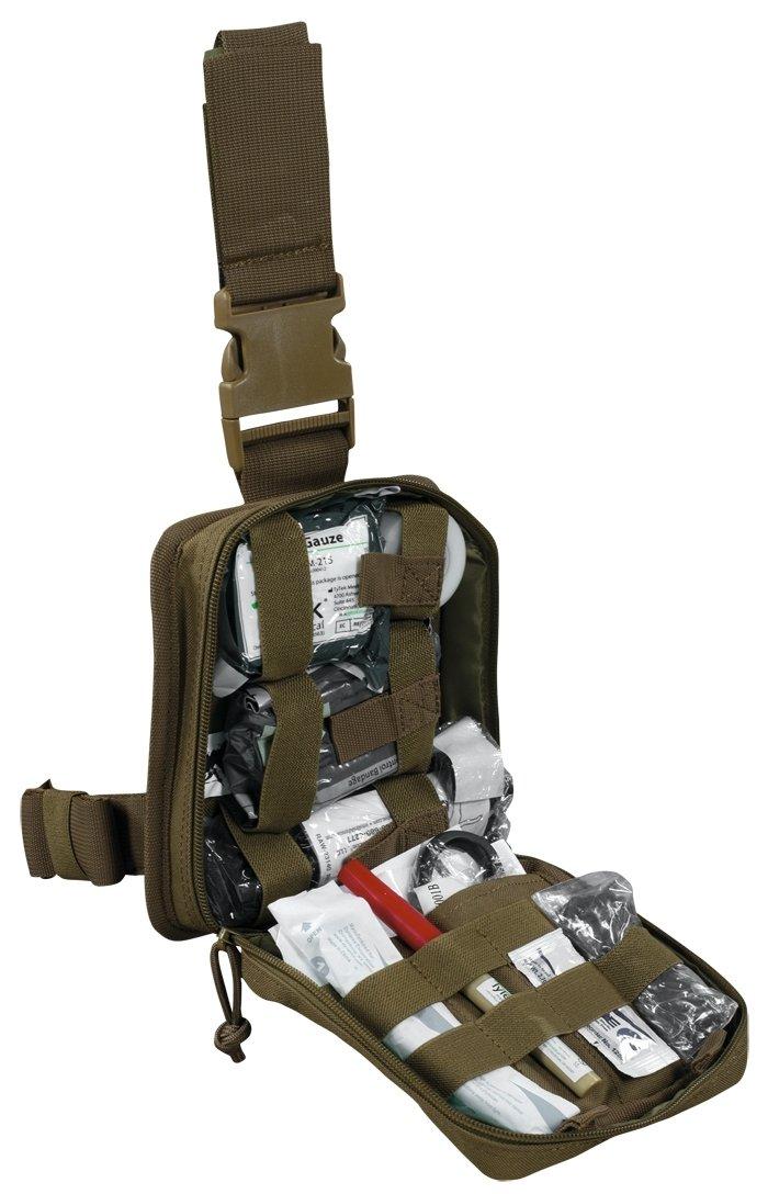 ELITe Enhanced NSN IFAK Kit Level 2 mit Tasche Coyote, Coyote