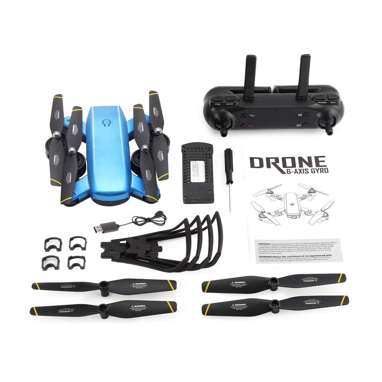 comprar ahora Dooret SG700 2.4G RC Aviones no tripulados tripulados tripulados Plegable Quadcopter con la cámara 720P HD WiFi FPV Flujo óptico Posicionamiento Altitud Hold Modo sin Cabeza  salida