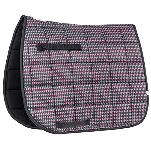 Union Hill Dressage Pad (Lettia Purple Houndstooth Dressage Pad)