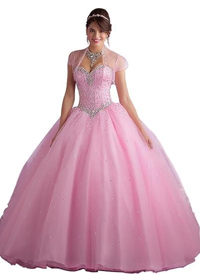 99e57bd2d8 Los detalles en pedrería hacen al corpiño el punto focal de este vestido.