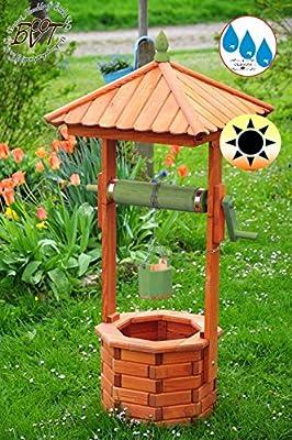 Grandes de Madera Brunnen, Nuevo de jardín Brunnen Modern aprox ...