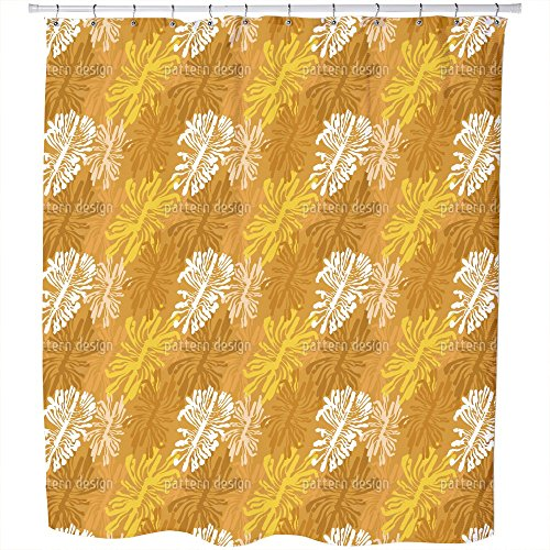 Uneekee The Bark Beetle Way Shower Curtain: Large Waterproof Luxurious Bathroom Design Woven Fabric by uneekee