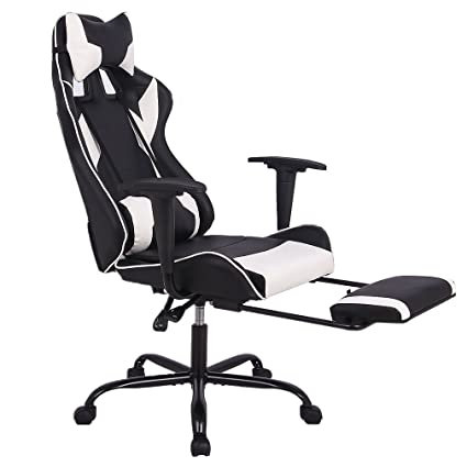 amazon com office chair gaming chair ergonomic swivel chair high