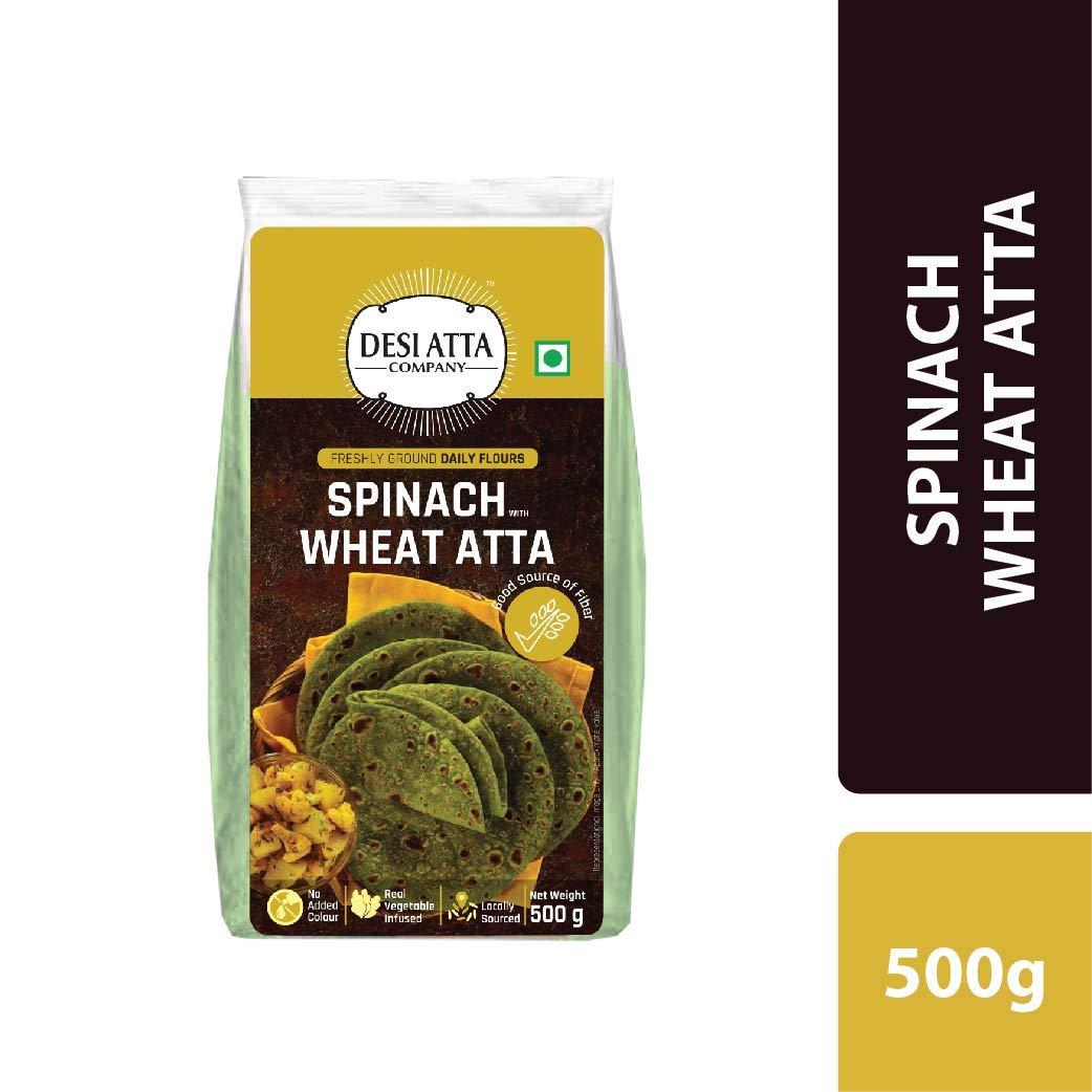DESI ATTA CO Spinach Wheat Atta 500 G (B07RXRK9NL) Amazon Price History, Amazon Price Tracker
