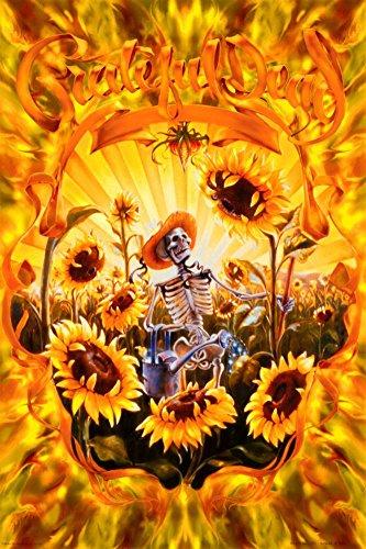 Grateful Dead - Grateful Grower Poster Print