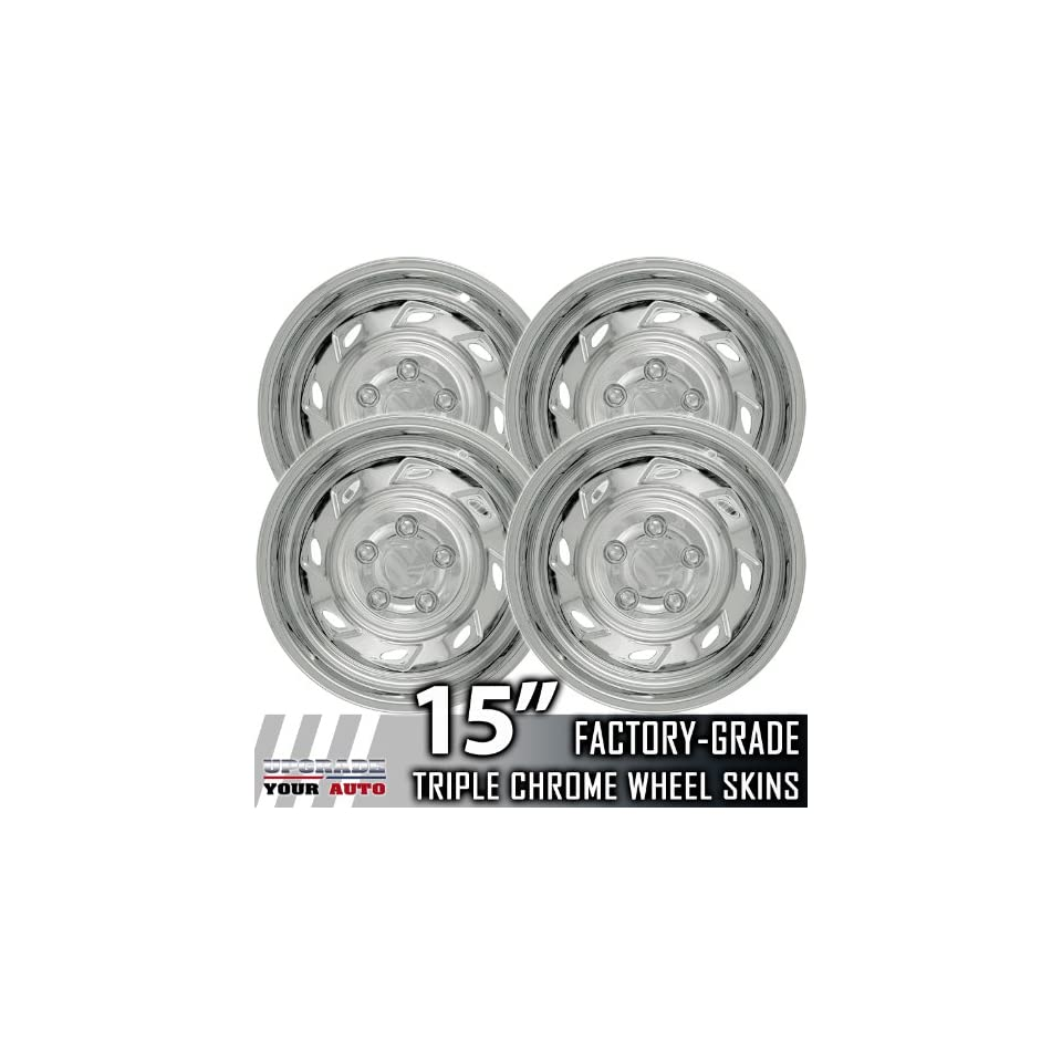 93 06 FORD RANGER 15 Chrome Wheel Skin Covers