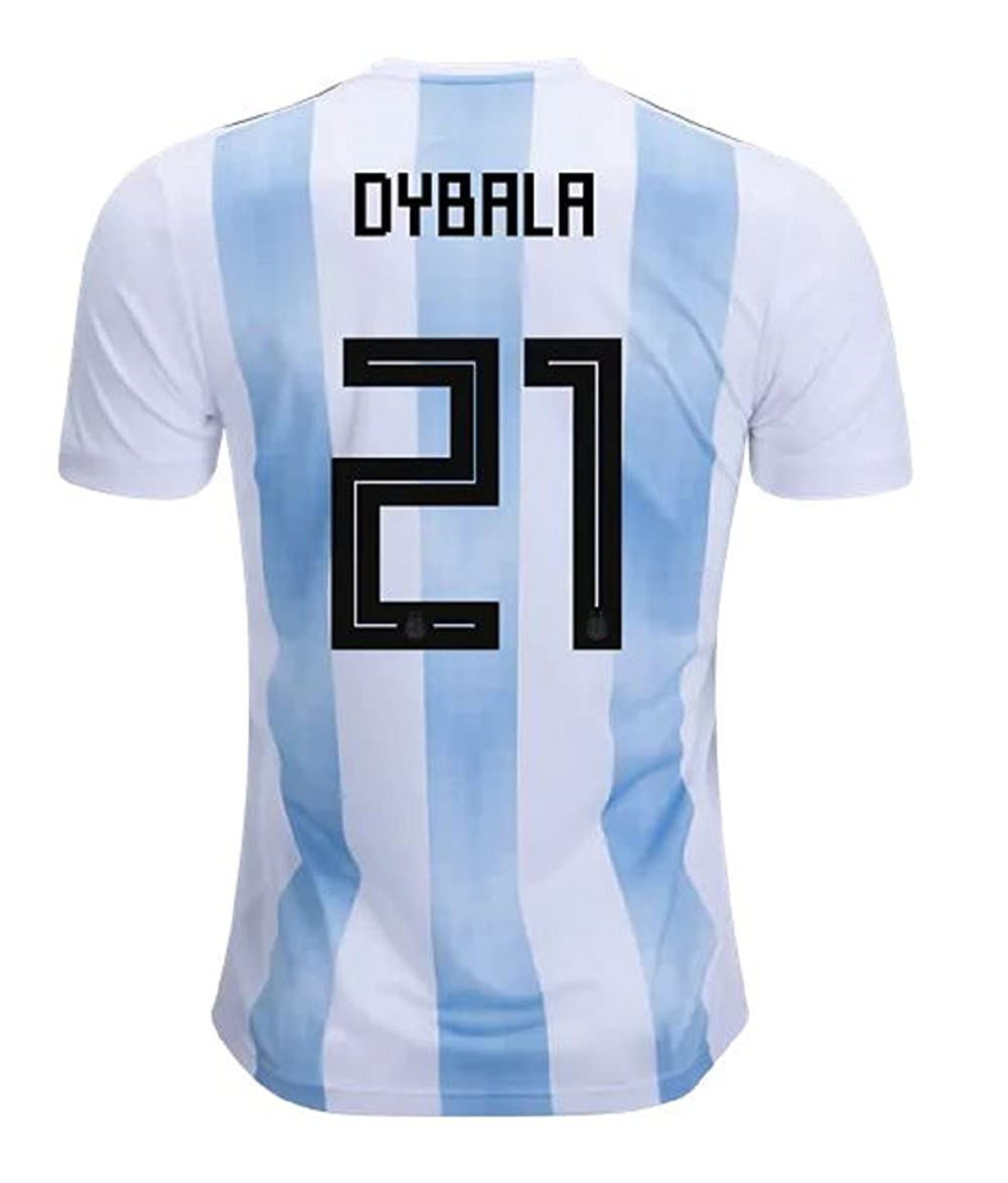 big sale 08521 32e8f Amazon.com: adidas Argentina Home Dybala Jersey 2018/2019 ...