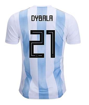 big sale 3073b 3a7c5 Amazon.com: adidas Argentina Home Dybala Jersey 2018/2019 ...