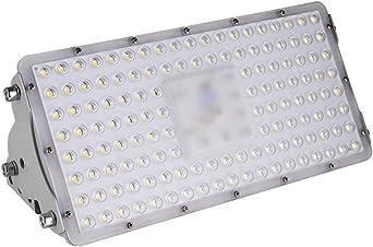 100W LED Foco exterior proyector, Focos exterior de luz blanca fría 6000k, focos industriales, reflectores decoracion jardin, focos para exteriores, focos para taller jardín: Amazon.es: Iluminación