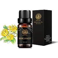 Aromatherapy Essential Oil Bergamot, 100% Pure Bergamot Scent Essential Oil for Diffuser, Humidifier, Massage, Therapeutic Grade Bergamot Aromatherapy Essential Oil Fragrance 0.33 oz - 10ml