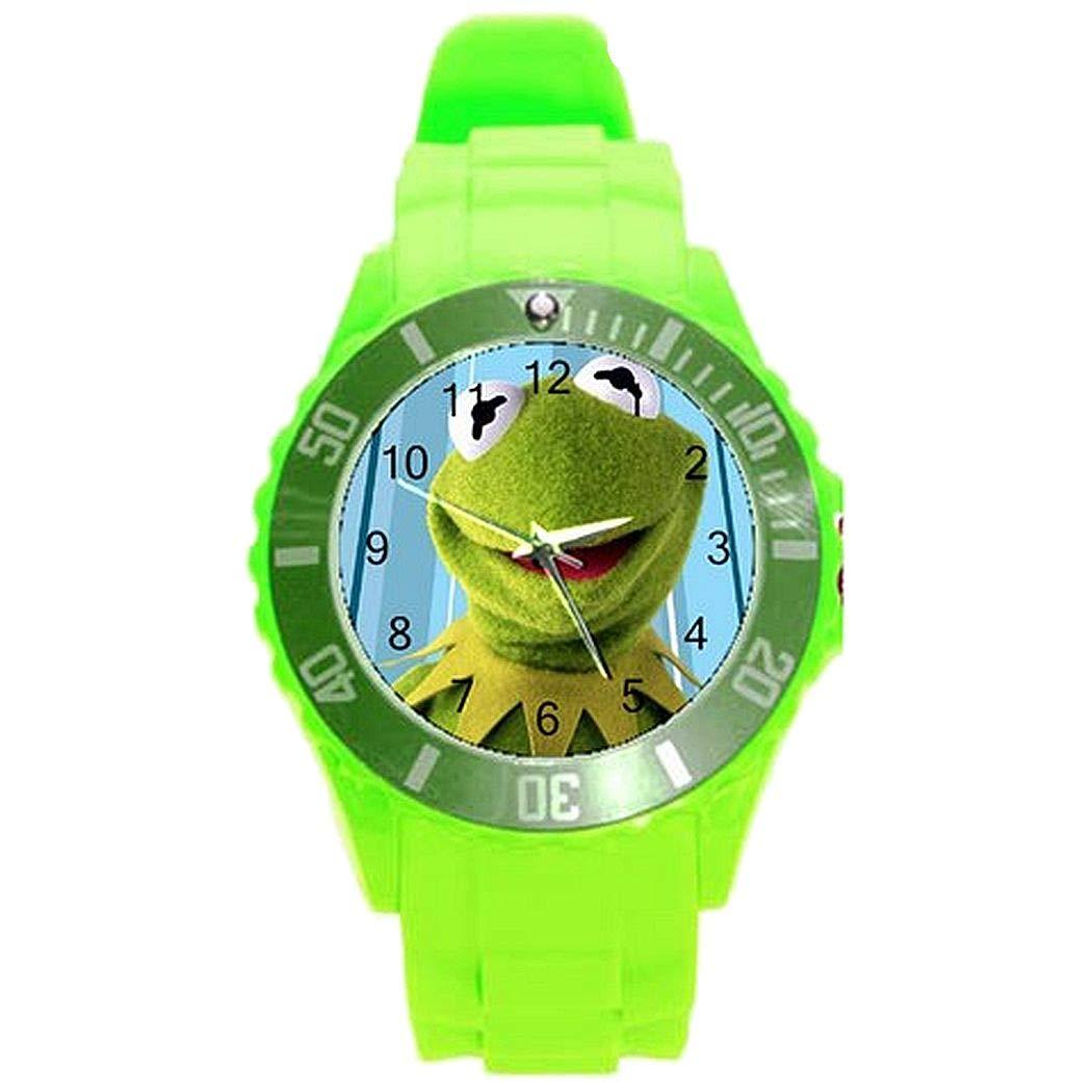 Amazon.com: Kermit la rana niñas o niños reloj con banda de ...