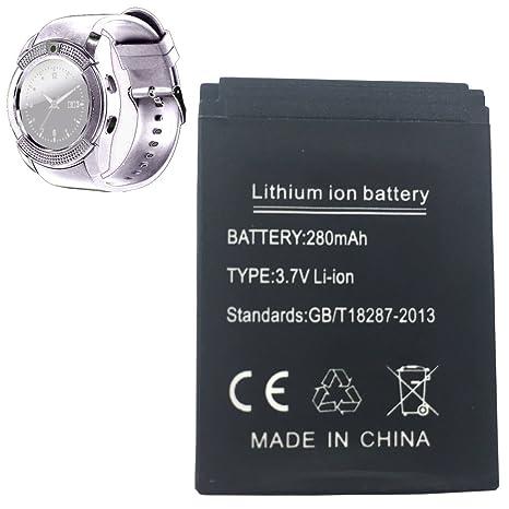 OCTelect bateria v8 smartwatch batería de Litio Recargable ...