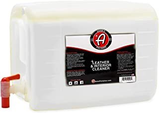 product image for Adam's Leather & Interior Cleaner - Safely Deep Cleans All Leather Vinyl and Plastic Interior Surfaces - Gentle on Your Interior, Tough on Dirt (5 Gallon)