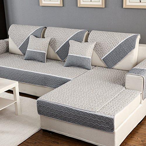 Sofa cushions,cotton fabric cushion for all seasons, european-style sofa-B 90x160cm(35x63inch) by JIN Sofa mats