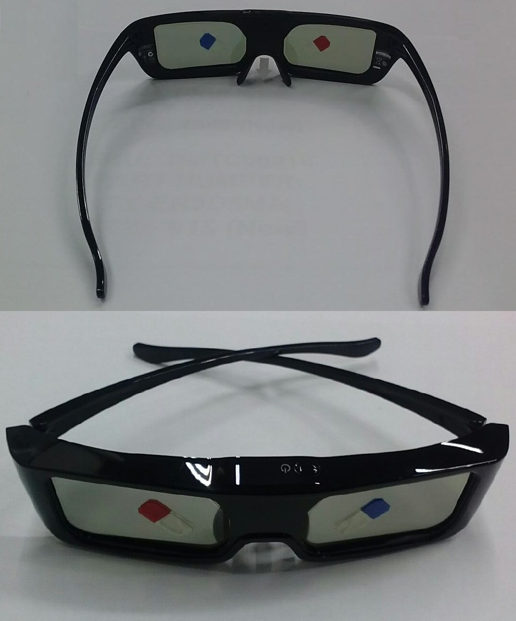 Factory Original Panasonic TY-ER3D5MA / TYER3D5MA Active 3D Glasses