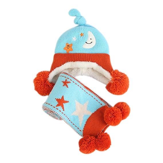 BIGBOBA Bebé Sombrero de Invierno Gorras con Super lindas Orejas ...