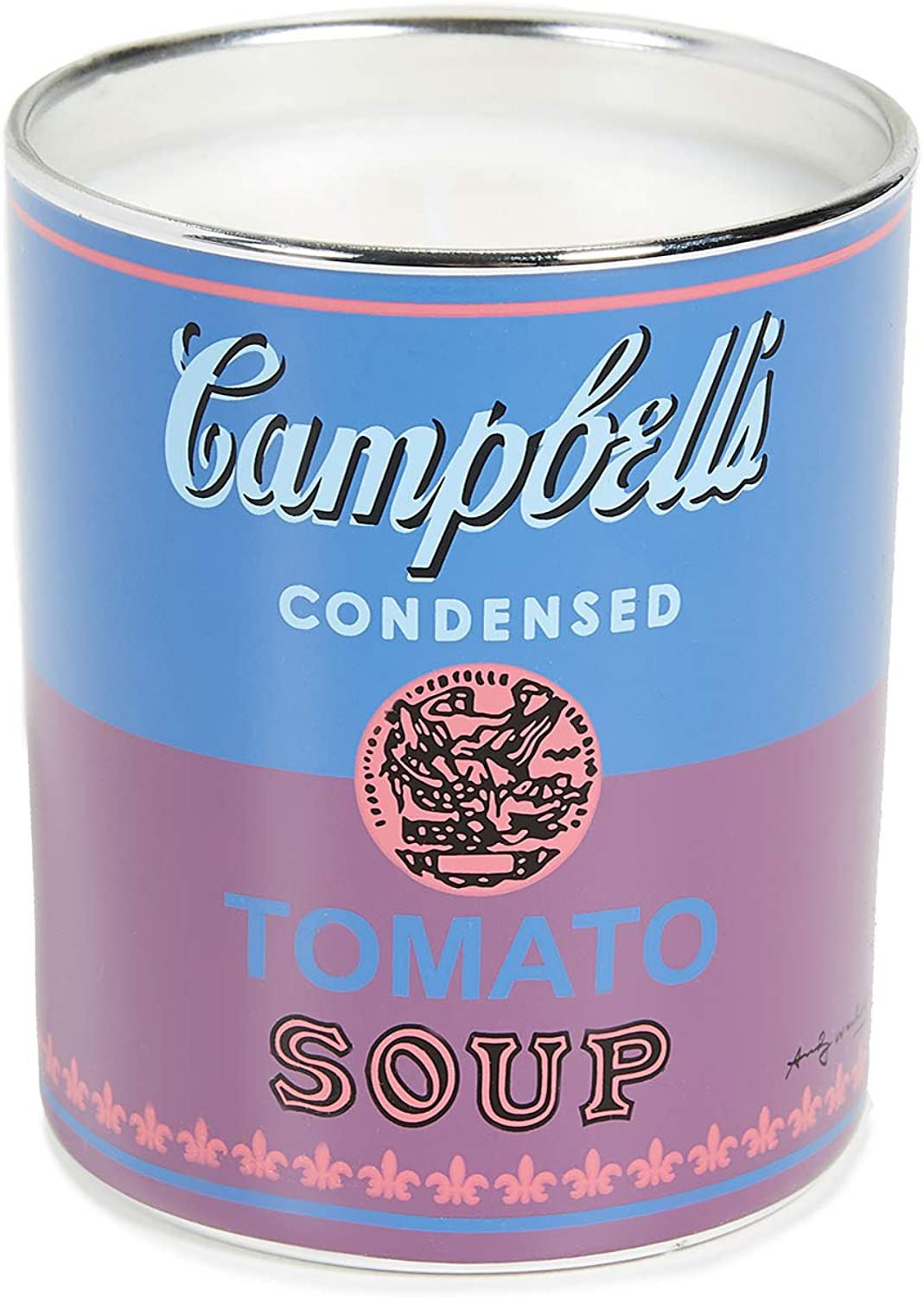 Andy Warhol Scented Campbell's Soup Can Candle — Blue / Purple (Fig & Tree Scent)