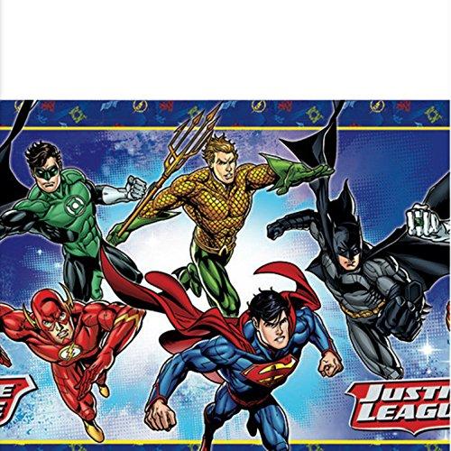 Justice League Tablecover [Contains 3 Manufacturer Retail Unit(s) Per Amazon Combined Package Sales Unit] - SKU# 571585