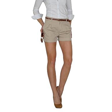 Berlin Chino Damen Db Dresscode Beigel Shorts In 40 b7yvfIgmY6