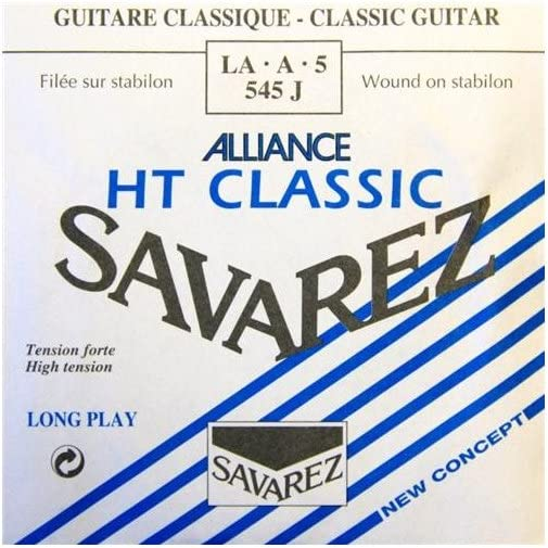 Savarez Cuerdas para Guitarra Clásica Alliance HT Classic 545J cuerda suelta La5w Classic HT high