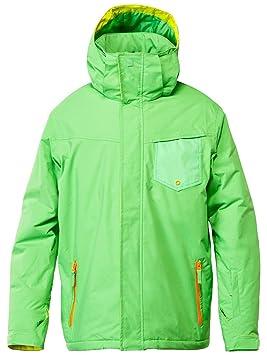 Quiksilver Mission - Chaqueta de esquí para hombre, color verde, talla XS: Amazon.es: Deportes y aire libre
