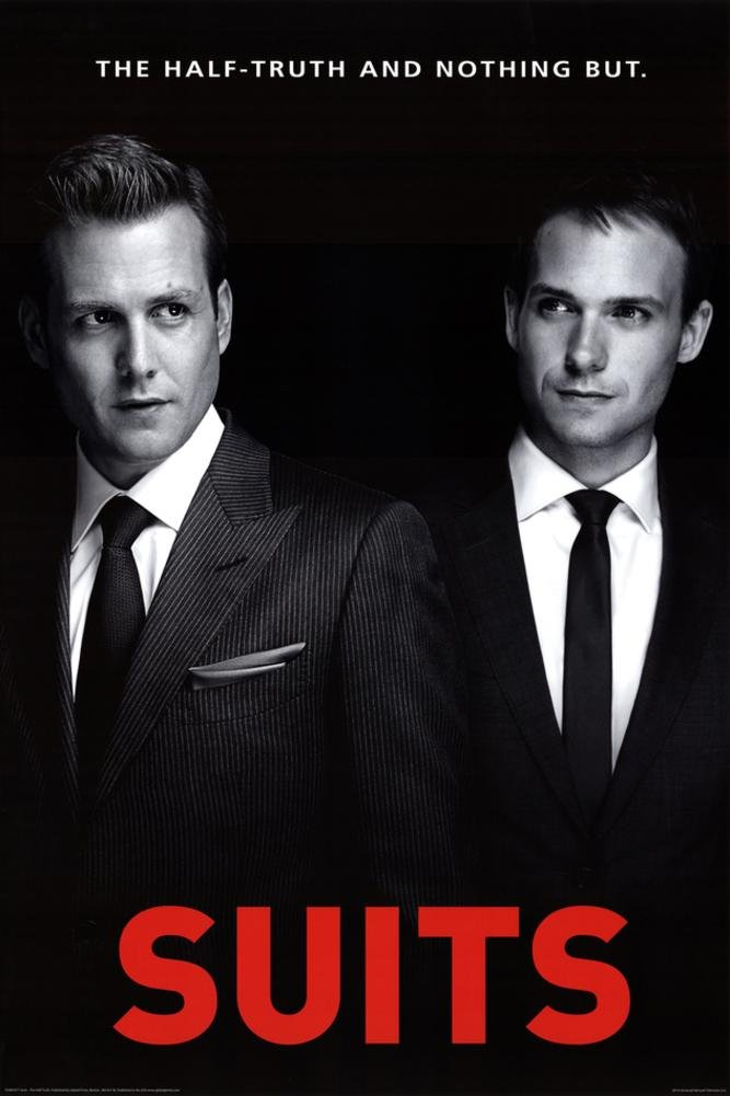Harvey specter amazon suits one sheet poster 24 x 36in colourmoves