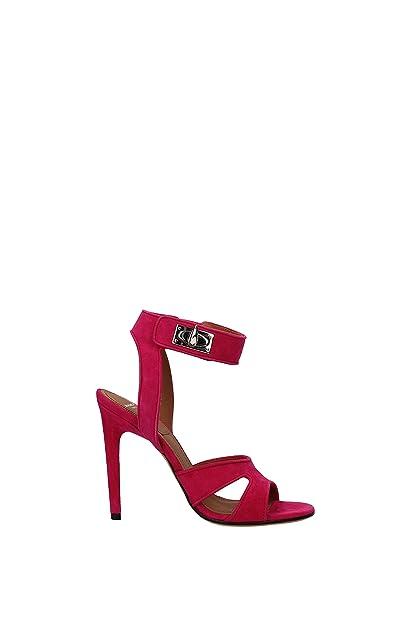 b1ec6d304c5a Givenchy Sandals Women - Suede (BE300FE005) UK  Amazon.co.uk  Shoes ...