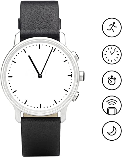Smart Watch Hybrid Smartwatch, Sapphire Glass Bluetooth Waterproof Activity Tracker Sleep Monitor for Android or IOS Phone