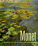 Front cover for the book Monet: Late Paintings of Giverny from the Musee Marmottan by Lynn Federle Orr