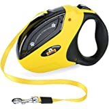 Retractable Dog Leash with Break and Lock Button - Free eBooks - Premium Quality - 10 Ft - Suitable for Small and Medium Dogs - Up to 44 lbs - 100% Life Time Guarantee