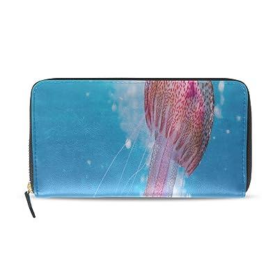 Medalla de medusas de color Pasaporte largo Bolsos de ...