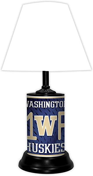 WASHINGTON HUSKIES NCAA LAMP BY TAGZ SPORTS
