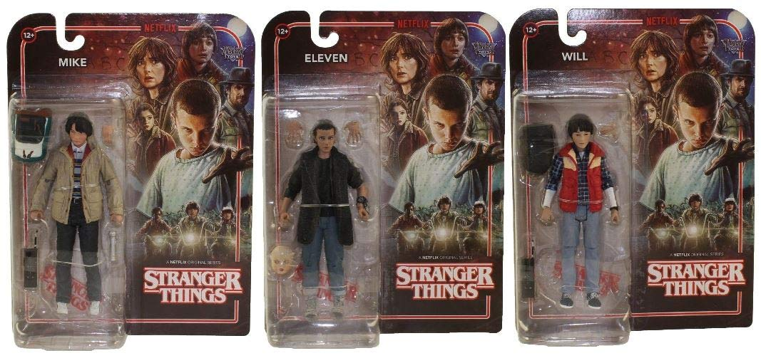 Amazon.com: Stranger Things Series 3 figura de acción Juego ...