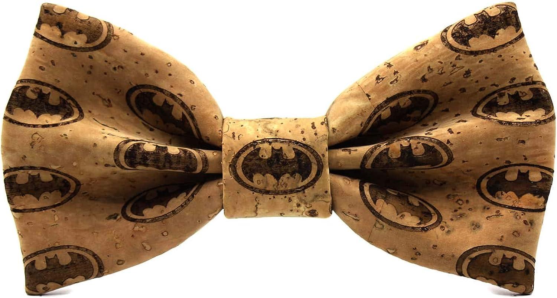 Colecci/ón de moda hombre: l/ínea boda y eventos Confeccionada a mano en Espa/ña Dise/ño superh/éroe de c/ómic Regalo elegante y original Territorial Pajarita Bat