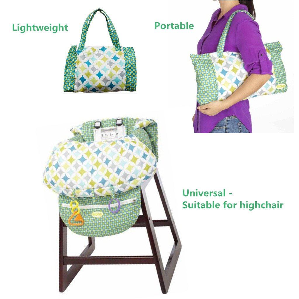 Kleinkind Hochstuhl Sicherheits Gurt Tragbar Kinder Einkaufswagenschutz,Grau Baby Sitzbezug Reise
